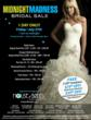 House of Brides Experiences Mass Appointment Booking for Midnight Madness Bridal Sale