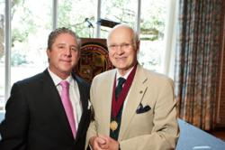 Co-Founders James W. Lewis and Claes Nobel of the National Society of High School Scholars