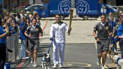 Day 66: Olympic Flame to visit Battersea Dogs & Cats Home and Wimbledon on its journey from Lewisham to Wandsworth