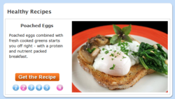 Diet.com's redesigned recipe pages
