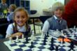 Everest students learn chess during the after-school chess club