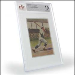 PoliceAuctions.com 1932 Sanella Babe Ruth Baseball Card