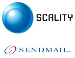 scality and sendmail logos