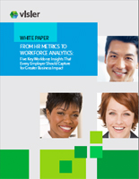 Visier Complimentary White Paper - From HR Metrics to Workforce Analytics