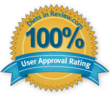 100% User Approval Rating