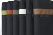 MacBook Air Travel Express—in black with green, flame, pine, pearl, black or copper stripe.