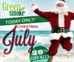 Green-Smoke-Christmas-in-July-Sale