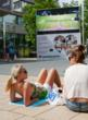 'I Love Hammersmith 2012 Summer Festival' at Lyric Square - Wimbledon is just one of many events screened this summer