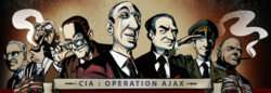 CIA: Operation Ajax key art