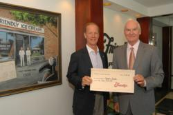 Anthony M. Lavely EVP, Chief Marketing Officer Friendly's Ice Cream LLC with Jim Williams, President and Chief Executive Officer, Easter Seals