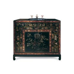 Cole And Co Chinoiserie Travel Chest Bathroom Vanity 11.10.275142.00