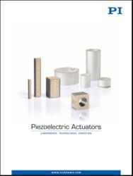 Piezo Positioner / Actuator Catalog