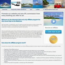 Dive Travel Affiliate Program