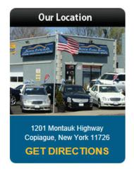 Conveniently located on Montauk Highway in central Long Island, N.Y.