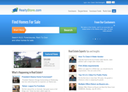 RealtyStore offers foreclosures, preforeclosures, lease options (rent to own homes) and fsbo properties