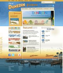 City of Dunedin website powered by Vision Internet