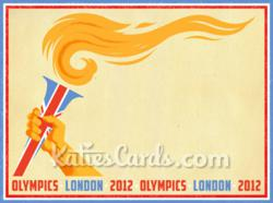 The 'London 2012 Olympics' Themed e card from www.katiescards.com