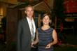 Owners of James Greenhouses, Ken and Leah James, receive the 2012 Operation of the Year award.