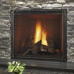 Heat & Glo TRUE gas fireplace