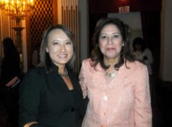 Assemblymember Mary Hayashi with U.S. Labor Secretary Hilda Solis