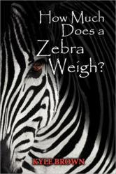 How Much Does A Zebra Weigh? Book Cover