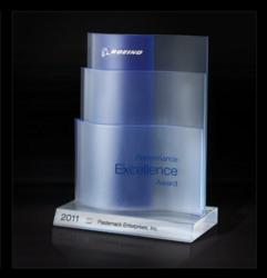 Boeing Performance Excellence Award Issued to Pasternack