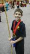 Shaolin Weapon Silver Medalalist Gabe Butler