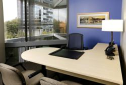 All offices are fully-furnished and have a beautiful courtyard-view.