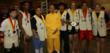 Brandon Harrell青少年散打-银牌, Javonti  Knockum 中量级散打格斗-金牌; Jeff Bordelon 助教练; 德如大师(刘向阳);李强助教练, Vlad 弗拉德,量级散打格斗-国际金腰带; 陈哲,轻量级散打格斗-金牌; Ariel Haigler 青少年女子散打-金牌