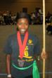BreAna, Mcintosh won a gold medal in traditional weapons