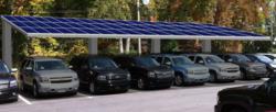 6 Bay Solar Charging Station