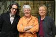 L to R: VP of the GRAMMY Foundation and MusiCares, Scott Goldman, with co-authors of Abbey Road to Ziggy Stardust Ken Scott, and Bobby Owsinski