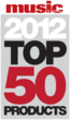 Top 50 Product at NAMM 2012