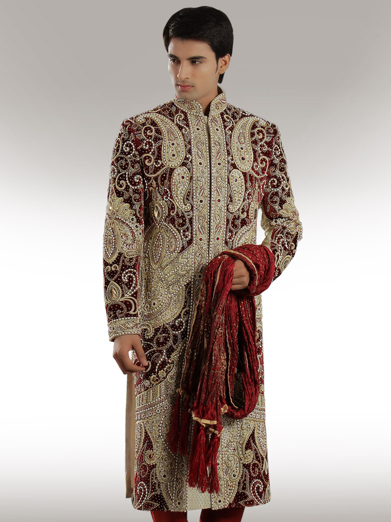 Traditional indian wedding suits for men