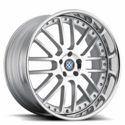 BMW Wheels by Beyern - the Henne in Silver