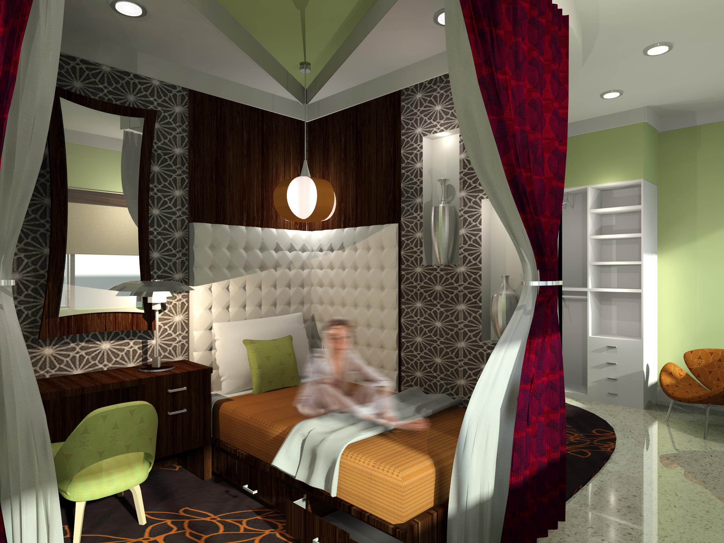Two ringling college interior design students win 2012 for College student living room ideas