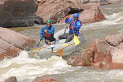 CBS Correspondent Bill Whitaker Swimming the Royal Gorge Bill Whitaker Rafting The Royal Gorge