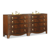 Cole And Co Brighton Double Vanity 11.24.275576.12 - Two modules