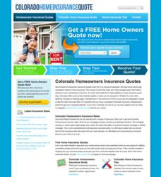 Free Online Quotes for Colorado Homeowners Insurance