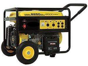 Baker Electric Solar Announces A 6500 Watt Generator Baker
