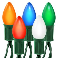 Multi-Color Christmas Lights