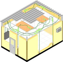 Modular Wiring Systems for Prefabricated Buildings from PortaFab