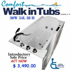 A1A Ultimate Edition Walk in Tub