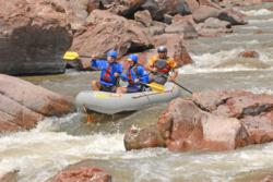 Royal Gorge Rafting on the Arkansas River.