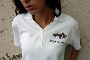 Custom embroidered shirts save 20 on custom polo shirts for Custom shirt embroidery no minimum