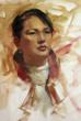 Chris Saper demonstrates mixing Asian skin tones in oil