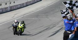 James Rispoli barely edges Hayden Gillim at the line
