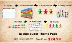Leading source of teacher supplies & craft supplies announces sale.