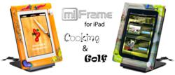 miFrame iPad Stand and Dock
