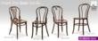 Some of the classic bentwood chairs from the new Bon Website